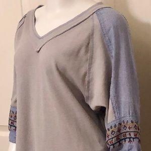 Grey thermal t shirt- bundle and save 15%
